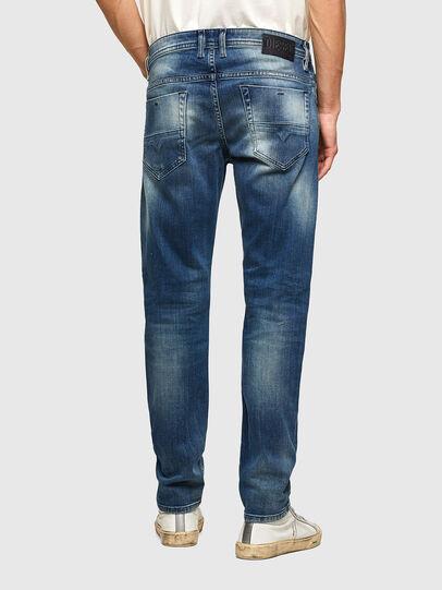 Diesel - Thommer Slim Jeans 009RD, Dark Blue - Jeans - Image 2