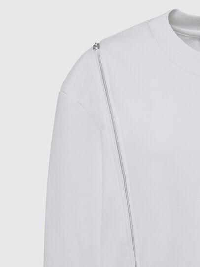 Diesel - F-GEORGIA, White - Sweatshirts - Image 4