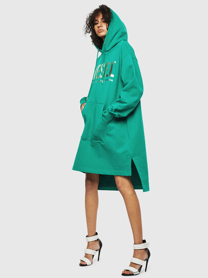 Diesel - D-ILSE-T, Green - Dresses - Image 4