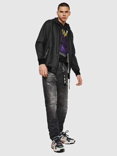 Diesel - S-FILM, Black - Sweatshirts - Image 6