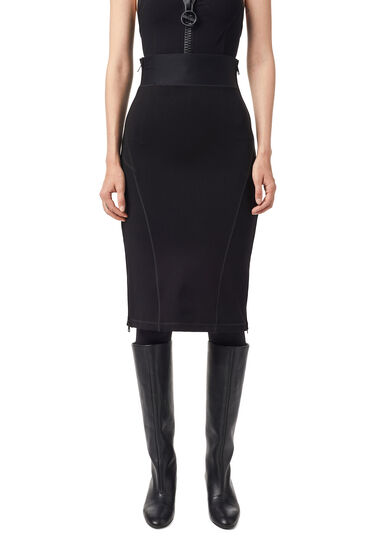 Pencil skirt in Milano knit