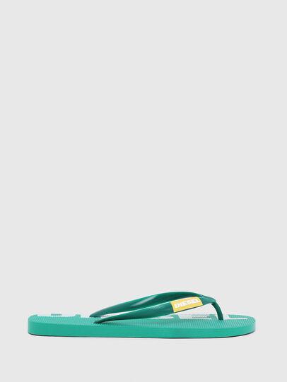 Diesel - SA-BRIIAN, Green - Slippers - Image 1