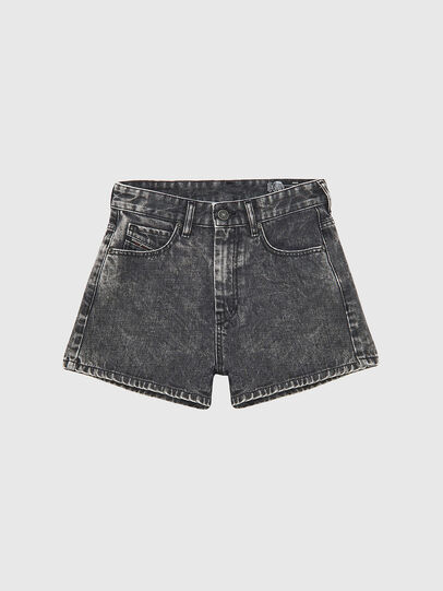 Diesel - D-ISI-SHORT, Negro - Shorts - Image 1