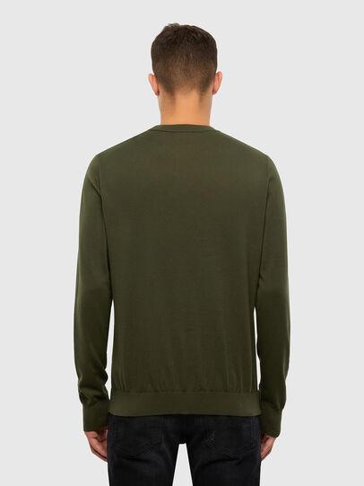 Diesel - K-FREEX-B, Military Green - Sweaters - Image 2