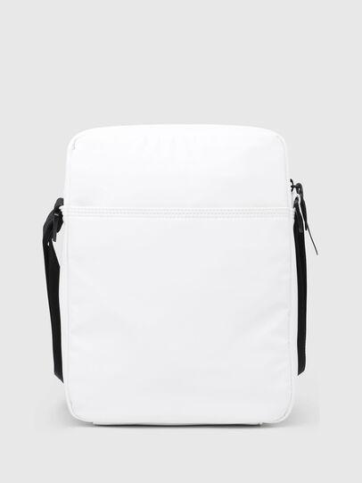 Diesel - F-BOLD SMALL CROSS, White - Crossbody Bags - Image 2