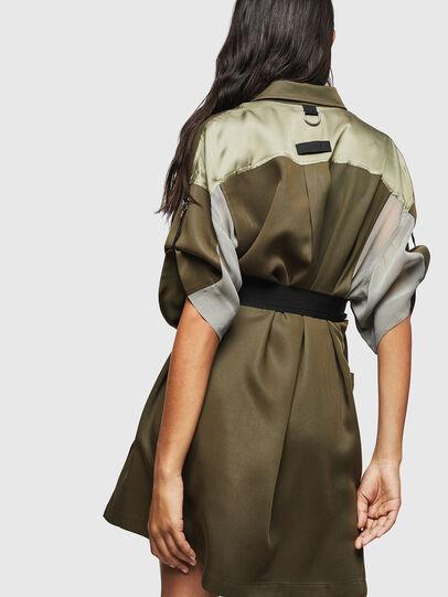 Diesel - D-TIEP, Military Green - Dresses - Image 2