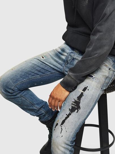 Diesel - Tepphar 0097M, Light Blue - Jeans - Image 4