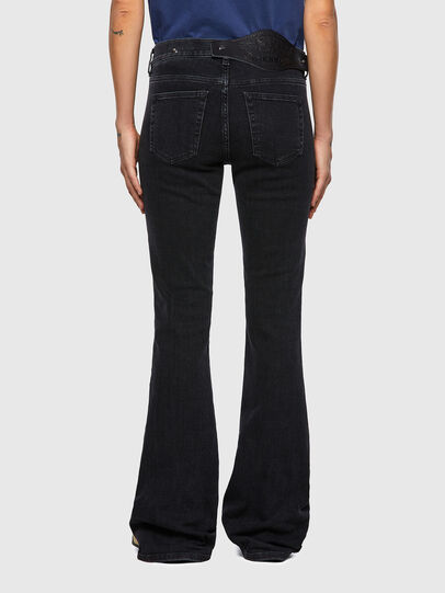 Diesel - D-Ebbey Bootcut Jeans 09A66, Black/Dark Grey - Jeans - Image 2
