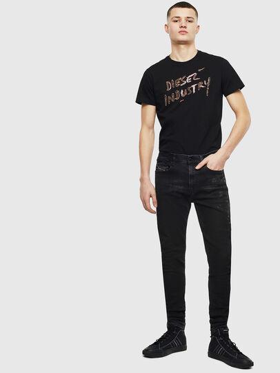 Diesel - T-DIEGO-S15, Black - T-Shirts - Image 4