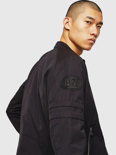 Diesel - J-GLORY, Black - Jackets - Image 4