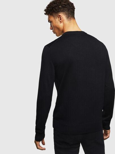 Diesel - K-TAPEX, Black - Sweaters - Image 2