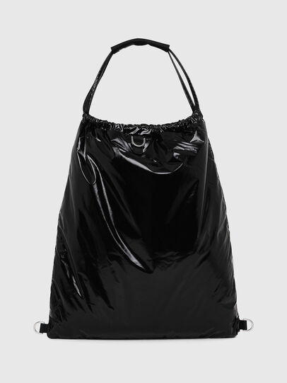Diesel - F-THISBAG MONO, Black - Backpacks - Image 2