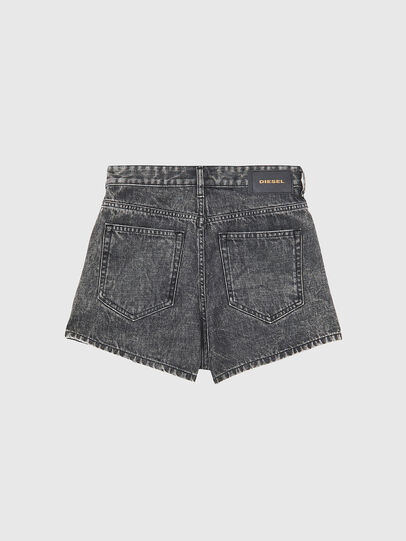 Diesel - D-ISI-SHORT, Negro - Shorts - Image 2