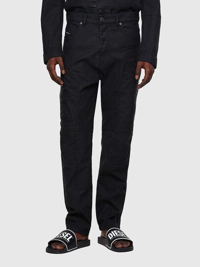 Diesel - D-VIDER Carrot JoggJeans® 0DDAX, Black/Dark Grey - Jeans - Image 1