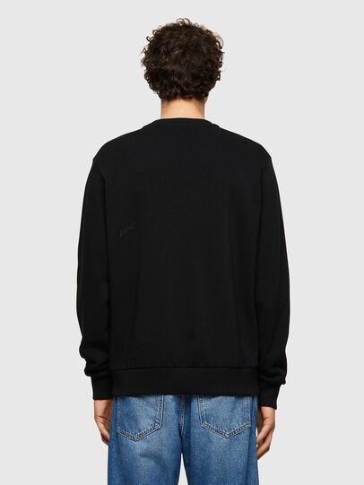 Diesel - S-GIRK-B4, Black - Sweatshirts - Image 2