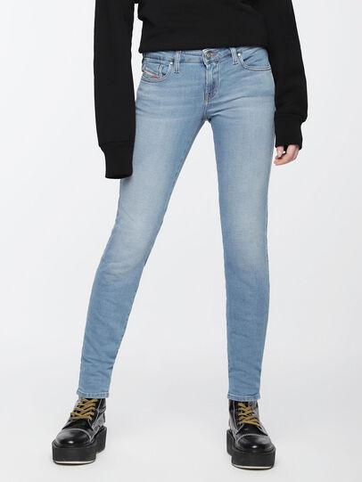 Diesel - Gracey JoggJeans 084UA, Light Blue - Jeans - Image 3