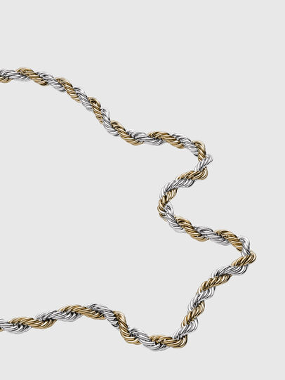 Diesel - DX1265, Gold/White - Necklaces - Image 2