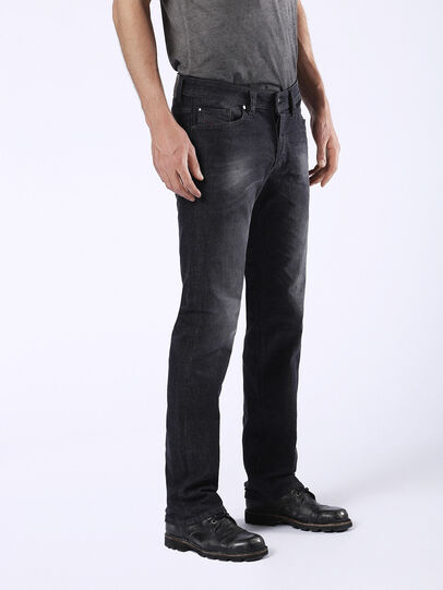 Diesel - Viker U0823, Black/Dark Grey - Jeans - Image 6