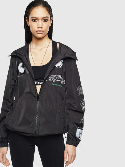Diesel - J-HEAD, Black - Jackets - Image 2