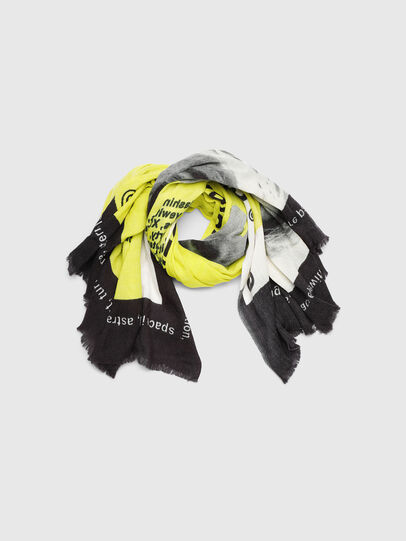Diesel - SRIGHT, White/Yellow - Scarves - Image 1