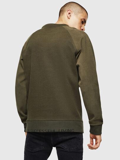 Diesel - S-KOBLER, Military Green - Sweatshirts - Image 2