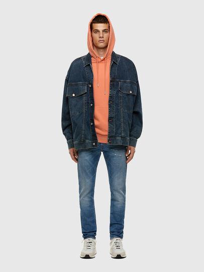 Diesel - Thommer Slim Jeans 009ES, Light Blue - Jeans - Image 4