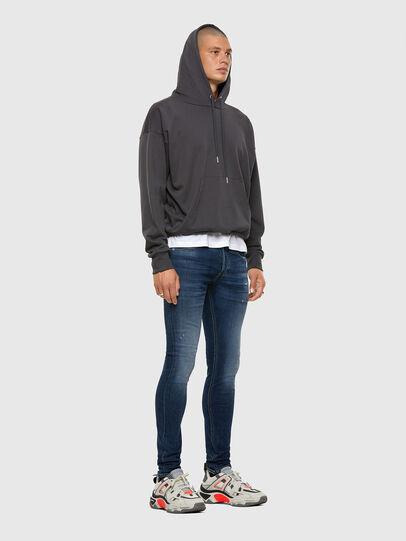 Diesel - Sleenker Skinny Jeans 009DK, Dark Blue - Jeans - Image 6