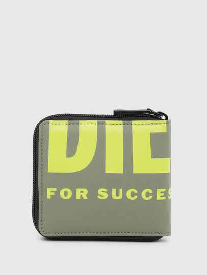 Diesel - ZIPPY HIRESH S II, Olive Green - Small Wallets - Image 2