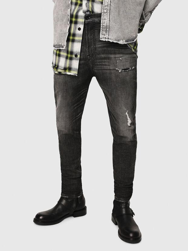D-Vider JoggJeans 0077S, Black/Dark Grey - Jeans