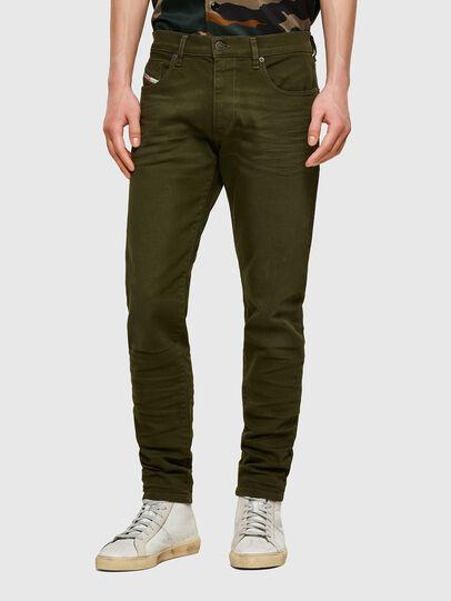 Diesel - D-Strukt Slim Jeans 009ZF, Military Green - Jeans - Image 1