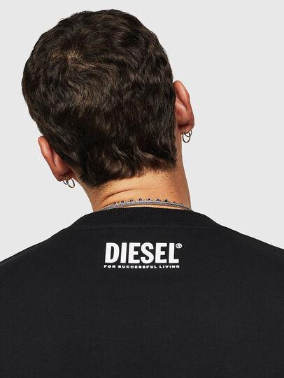 Diesel - S-BAY-B9, Black - Sweatshirts - Image 3