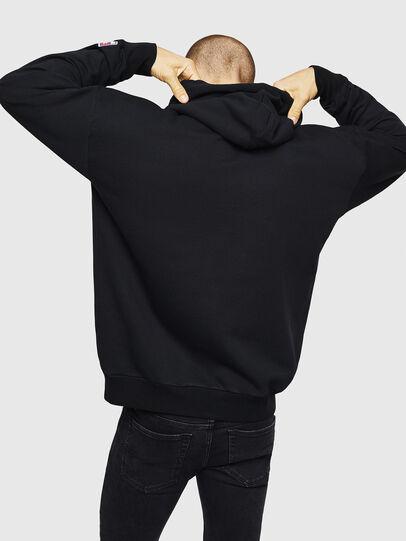 Diesel - S-DIVISION-D, Black - Sweatshirts - Image 2