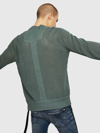 Diesel - K-RIO, Olive Green - Sweaters - Image 2