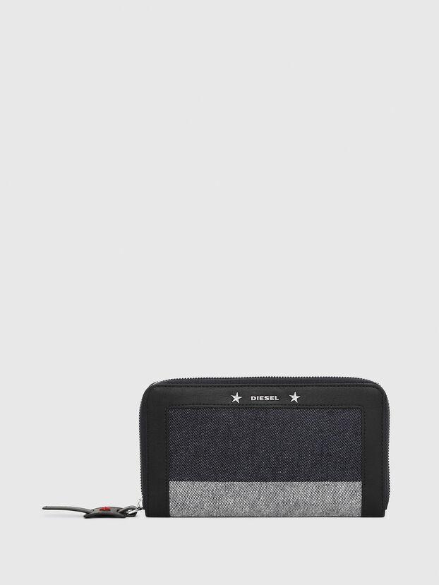 GRANATO, Blue/Grey - Zip-Round Wallets