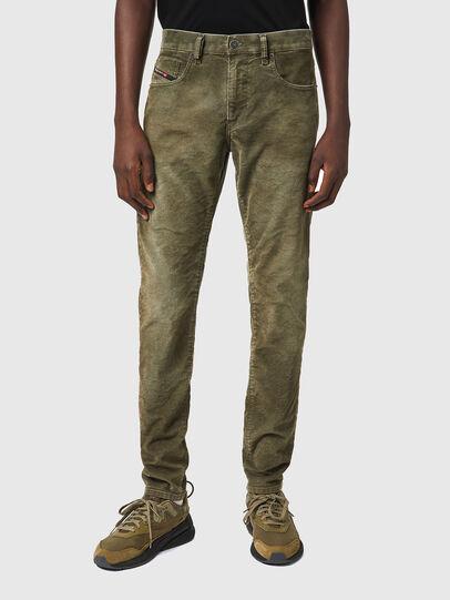 Diesel - D-Strukt Slim Jeans 069XQ, Military Green - Jeans - Image 1