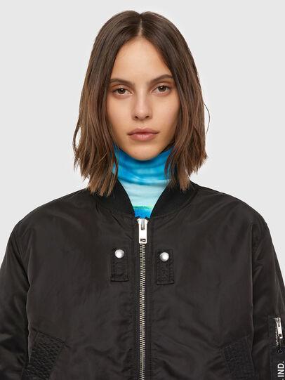 Diesel - W-SWING, Black - Winter Jackets - Image 4