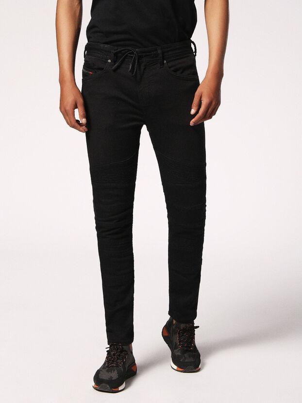 Bakari JoggJeans 0678E, Black/Dark Grey - Jeans