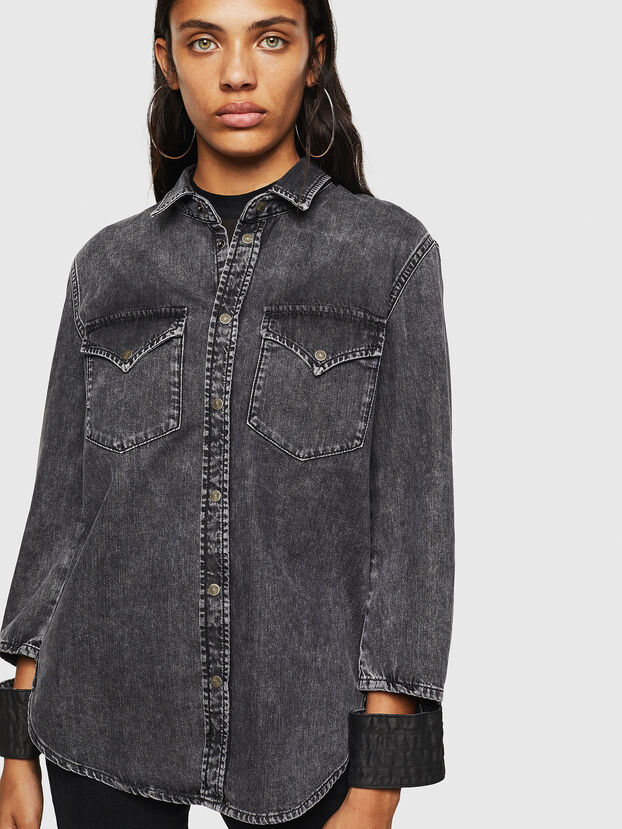 DE-COLLY,  - Denim Shirts