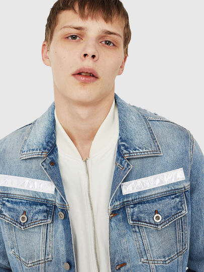 Diesel - NHILL-TM, Blue Jeans - Denim Jackets - Image 3