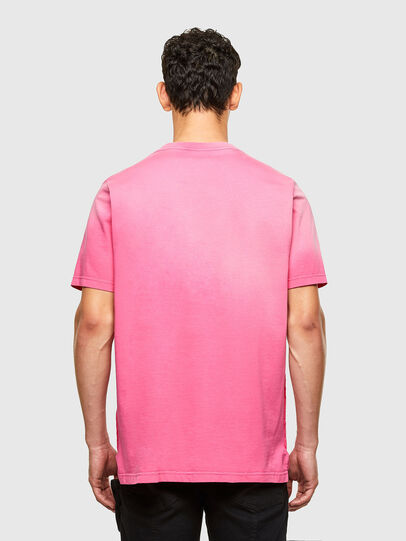Diesel - T-JUBIND-SLITS-A1, Hot pink - T-Shirts - Image 2