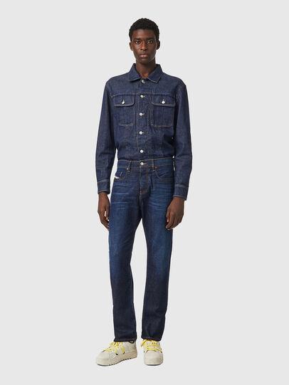 Diesel - D-Viker Straight Jeans 09A12, Dark Blue - Jeans - Image 5