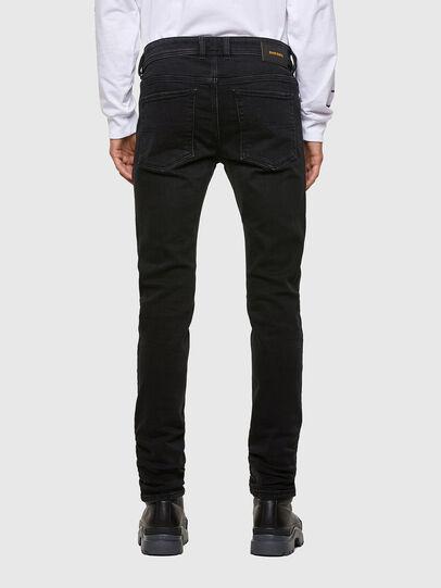 Diesel - Sleenker Skinny Jeans 009DH, Black/Dark Grey - Jeans - Image 2