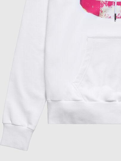Diesel - US-S-ALBY, White - Sweatshirts - Image 5
