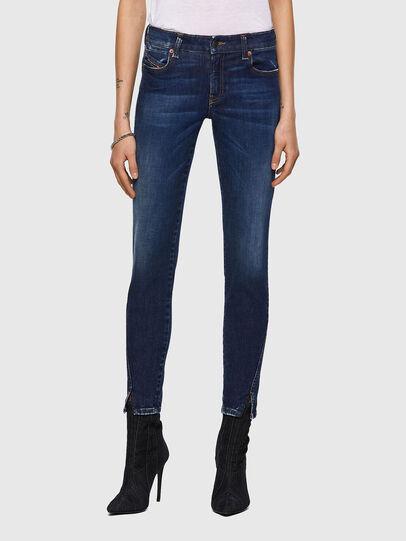 Diesel - D-Jevel Slim Jeans 09A30, Dark Blue - Jeans - Image 1