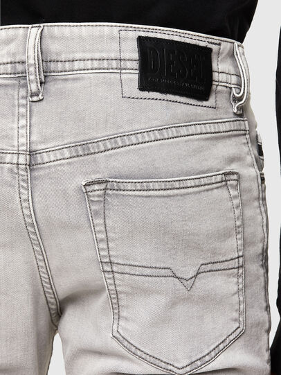 Diesel - Buster Tapered Jeans 069RP, Light Grey - Jeans - Image 4