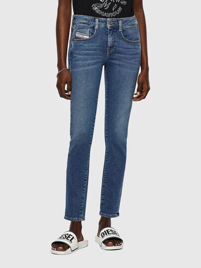 Diesel - D-Ollies Slim JoggJeans® 069XA, Medium Blue - Jeans - Image 1