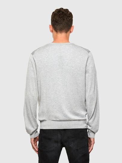 Diesel - K-CROFT, Grey - Sweaters - Image 2