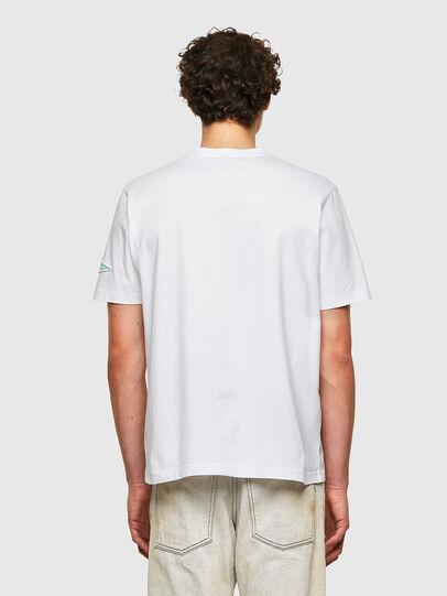 Diesel - T-JUST-B61, Blanco - Camisetas - Image 3