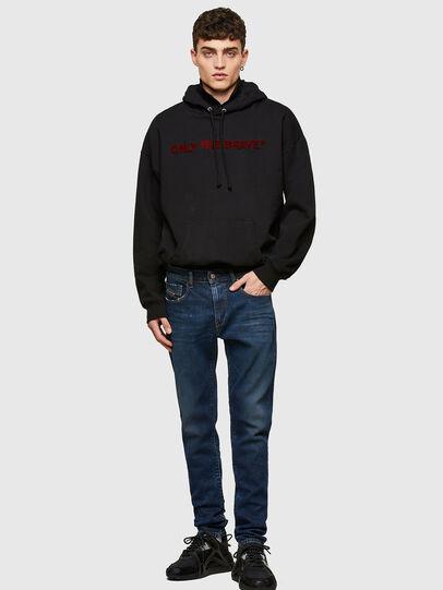 Diesel - D-Strukt Slim Jeans 009NV, Dark Blue - Jeans - Image 5