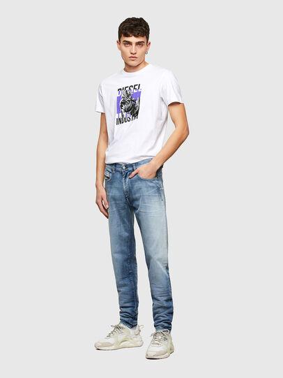 Diesel - D-Strukt Slim Jeans 009NS, Light Blue - Jeans - Image 5